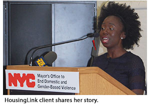 HousingLink client shares her story.